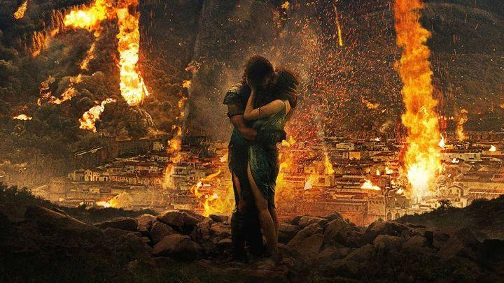 Una scena tratta dal film Pompei