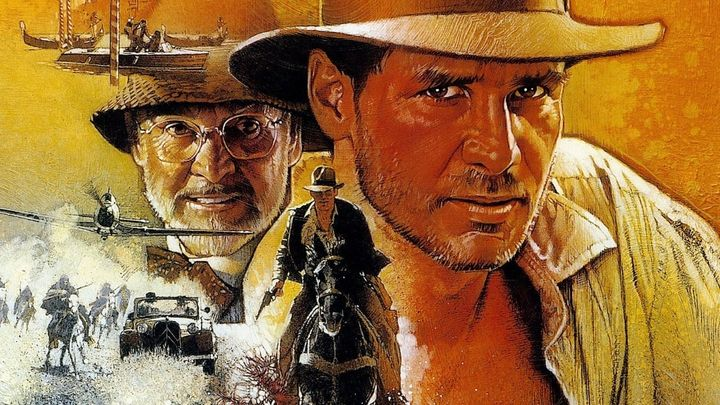 Una scena tratta dal film Indiana Jones E L'ultima Crociata