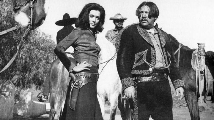 Una scena tratta dal film Una Pistola Per Ringo