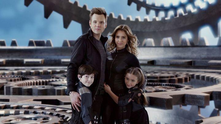 Una scena tratta dal film Spy Kids 4 - È Tempo Di Eroi