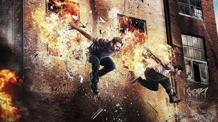 Una scena tratta dal film Brick Mansions