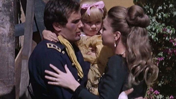 Una scena tratta dal film Il Ritorno Di Ringo