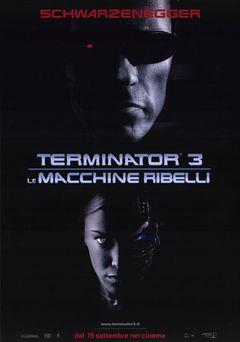 Locandina Terminator 3 - Le Macchine Ribelli