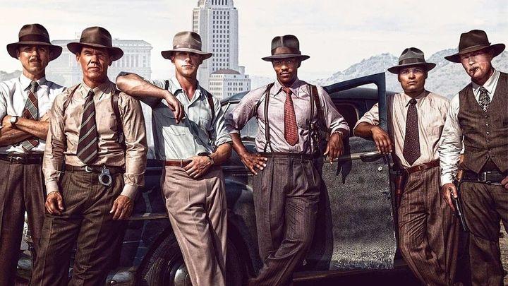 Una scena tratta dal film Gangster Squad