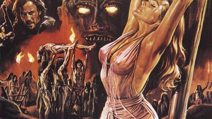 Una scena tratta dal film La Montagna Del Dio Cannibale