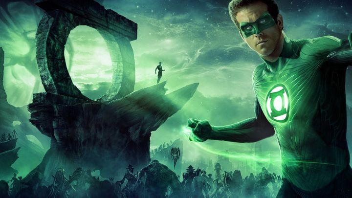 Una scena tratta dal film Lanterna Verde
