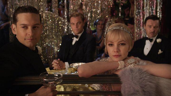 Una scena tratta dal film Il Grande Gatsby