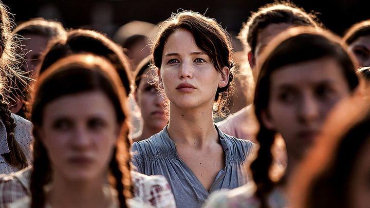 Una scena tratta dal film Hunger Games
