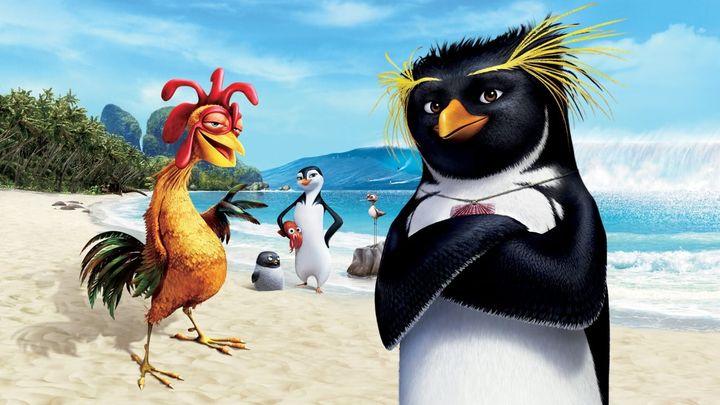 Una scena tratta dal film Surf's Up - I Re Delle Onde