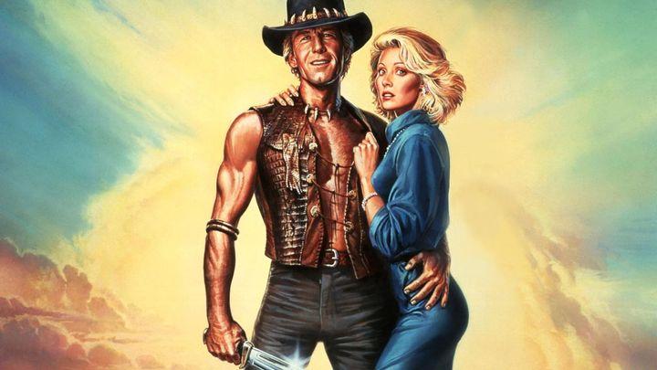 Una scena tratta dal film Mr. Crocodile Dundee 2