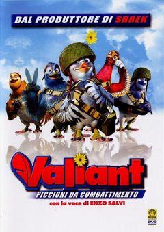 Locandina Valiant - Piccioni Da Combattimento