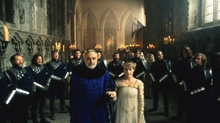 Una scena tratta dal film Il Primo Cavaliere