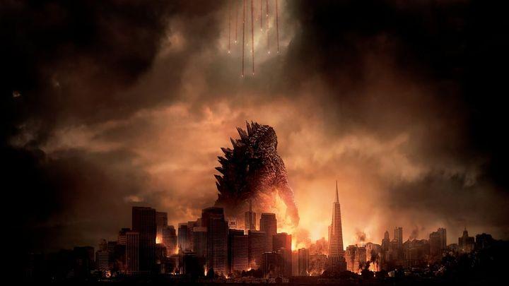 Una scena tratta dal film Godzilla