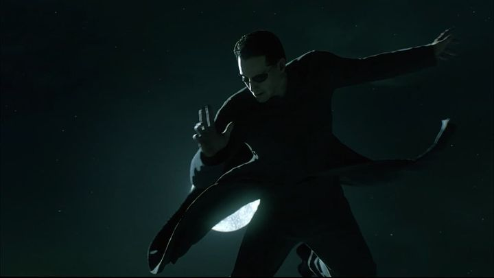 Una scena tratta dal film Matrix Reloaded