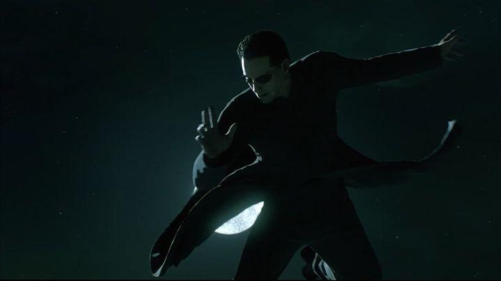 Una scena tratta dal film Matrix Reloaded