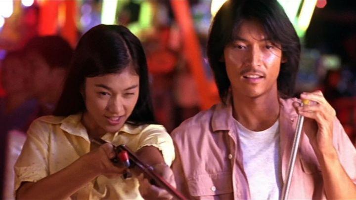 Una scena tratta dal film Bangkok Dangerous