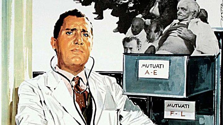 Una scena tratta dal film Il Medico Della Mutua