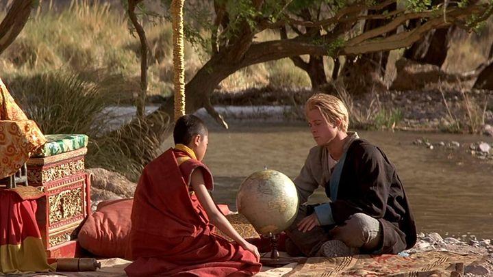 Una scena tratta dal film Sette Anni In Tibet