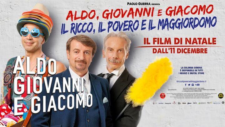 Una scena tratta dal film Il Ricco, Il Povero E Il Maggiordomo