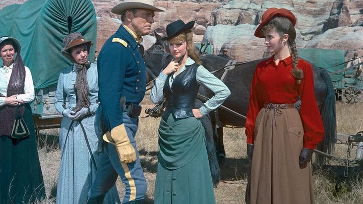 Una scena tratta dal film La Carovana Dell'alleluia