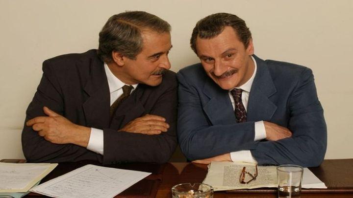 Una scena tratta dal film Paolo Borsellino