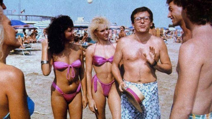 Una scena tratta dal film Rimini, Rimini - un anno dopo
