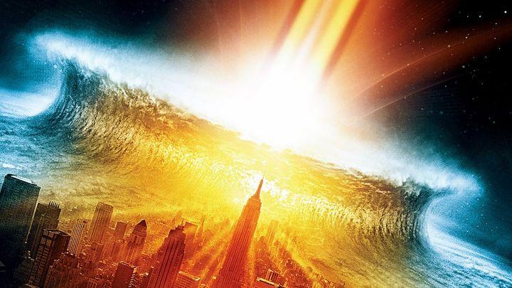 Una scena tratta dal film Deep Impact