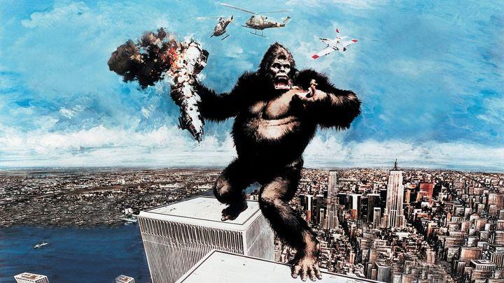 Una scena tratta dal film King Kong