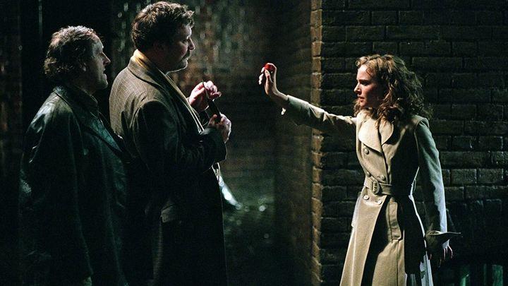 Una scena tratta dal film V Per Vendetta