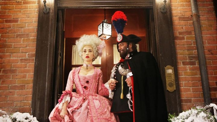 Una scena tratta dal film Soap Opera