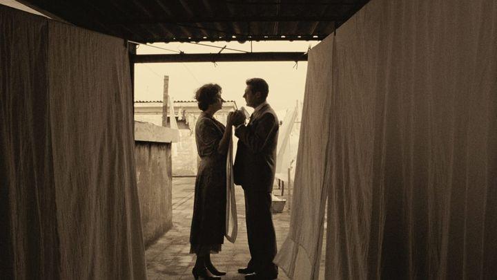 Una scena tratta dal film Una Giornata Particolare