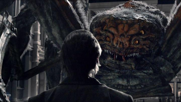 Una scena tratta dal film Spiders 3D