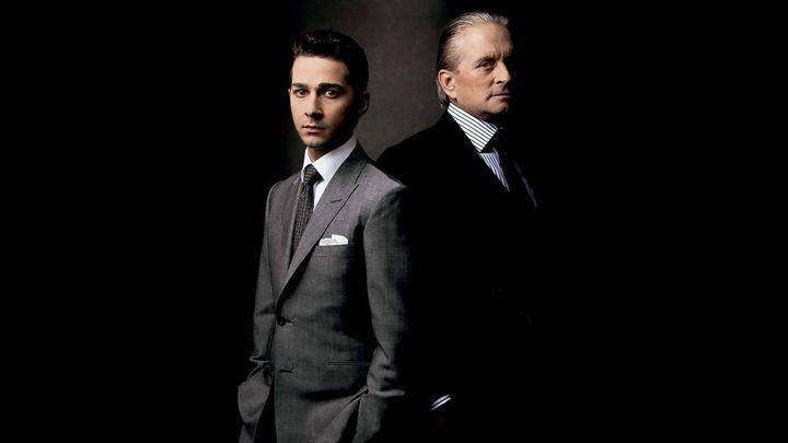Una scena tratta dal film Wall Street - Il denaro non dorme mai