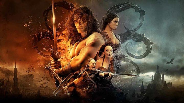 Una scena tratta dal film Conan the barbarian