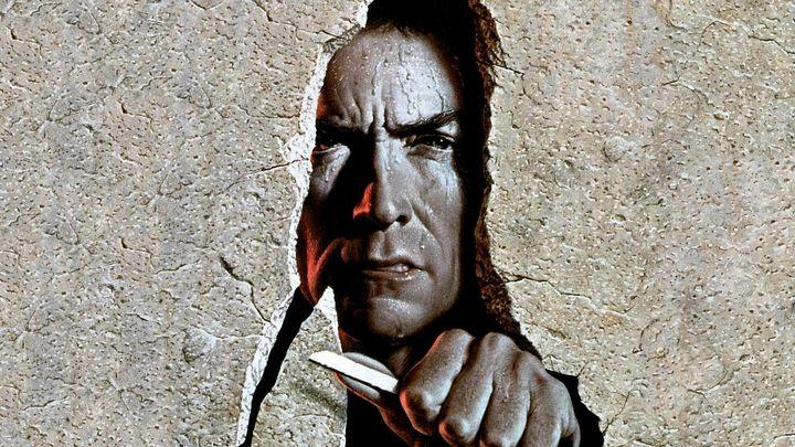 Una scena tratta dal film Fuga da Alcatraz