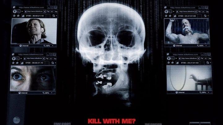 Una scena tratta dal film Nella rete del serial killer