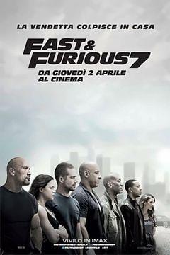 Locandina Fast & Furious 7