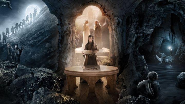 Una scena tratta dal film Lo Hobbit - Un viaggio inaspettato