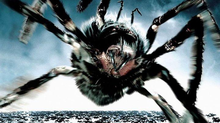 Una scena tratta dal film Arac attack - Mostri a otto zampe