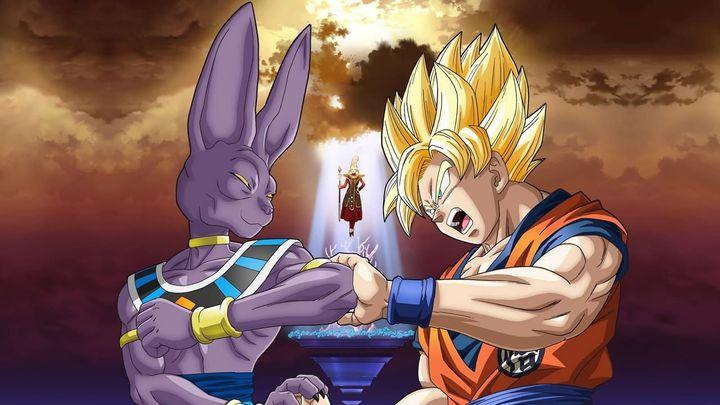 Una scena tratta dal film Dragon Ball Z - La Battaglia degli Dei