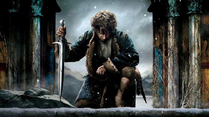 Una scena tratta dal film Lo Hobbit: La battaglia delle cinque armate