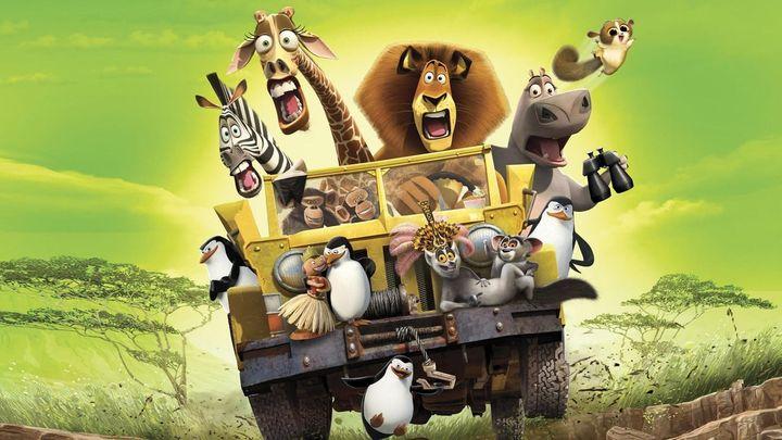 Una scena tratta dal film Madagascar 2