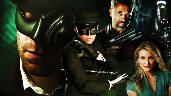 Una scena tratta dal film The Green Hornet