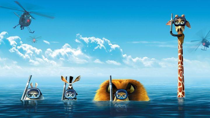 Una scena tratta dal film Madagascar 3 - Ricercati in Europa