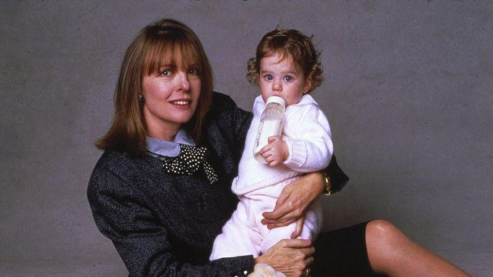 Una scena tratta dal film Baby Boom