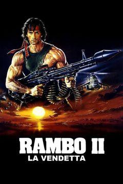 Locandina Rambo II - La vendetta