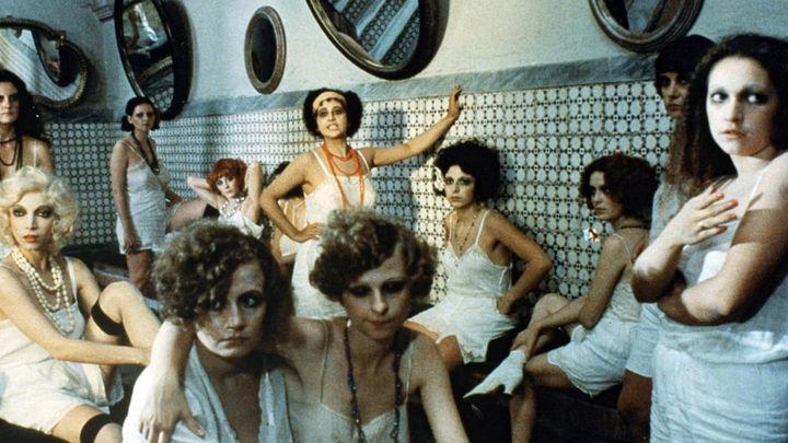 Una scena tratta dal film Film d'amore e d'anarchia, ovvero'stamattina alle 10 in via dei Fiori nella nota casa di tolleranza...'
