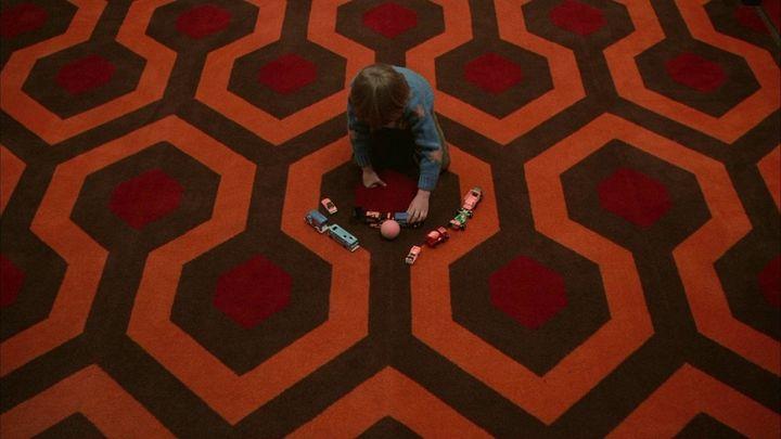 Una scena tratta dal film Shining
