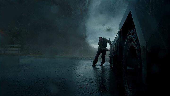 Una scena tratta dal film Into the Storm