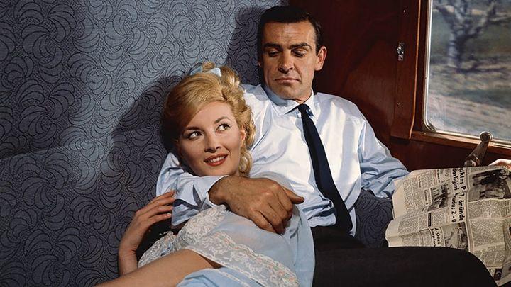 Una scena tratta dal film A 007, dalla Russia con amore